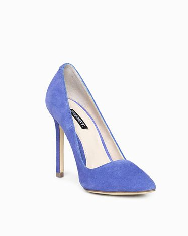 The Bess - Refined and modern, this pump is a wardrobe wonder. Made from supple suede in a slew of colors, this pointed toe basic completes every office-to-out look.