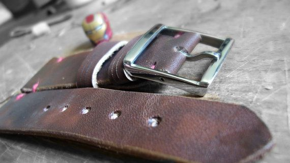 Vintage handmade watch band, watch strap II. Classic buckle