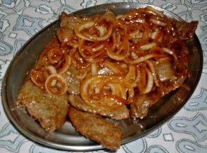 Brazilian Steak and Onions (Bife Acebolado)