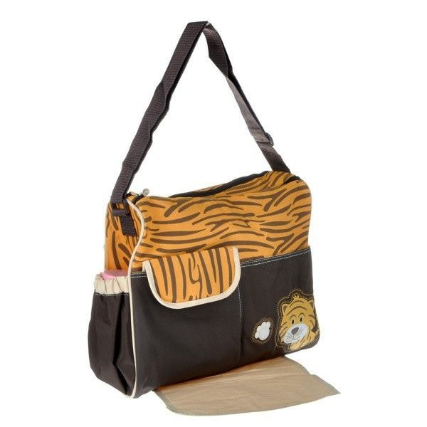 dribbleanddrool - Adorable Tiger Nappy Bag with Change Mat, $30.00 (http://www.dribbleanddrool.com.au/adorable-tiger-nappy-bag-with-change-mat/)
