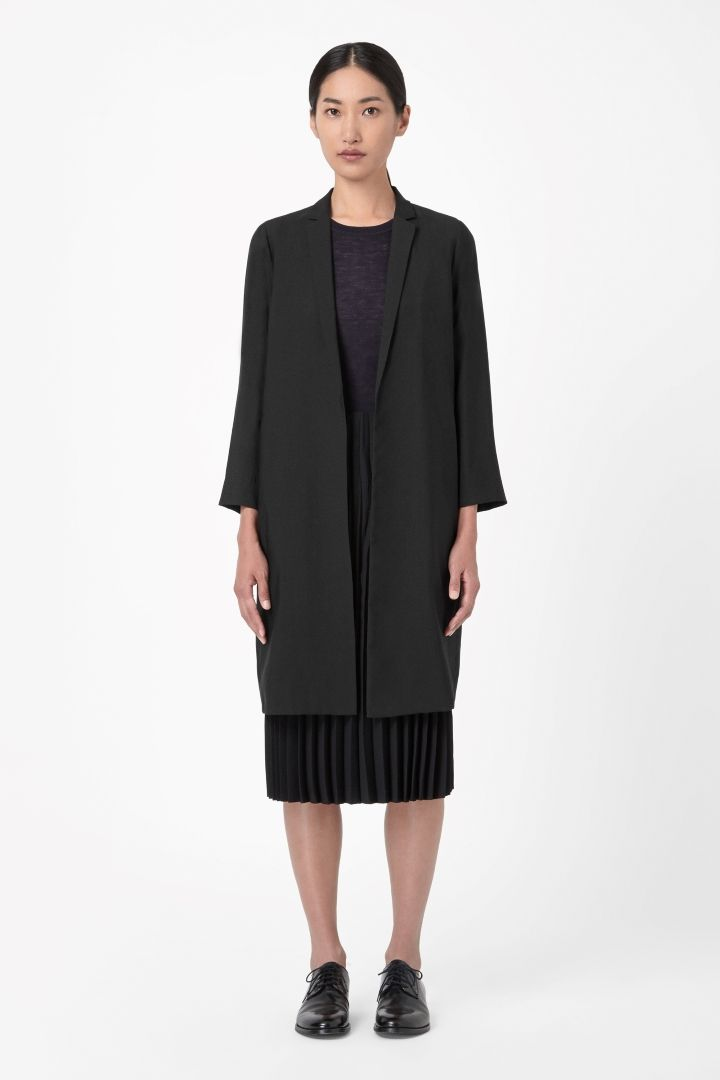 COS | Blazer with pleated lining