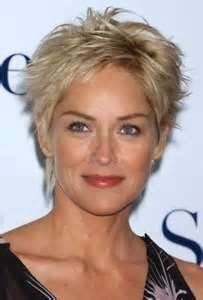Image Search Results for sharon stone with short hair