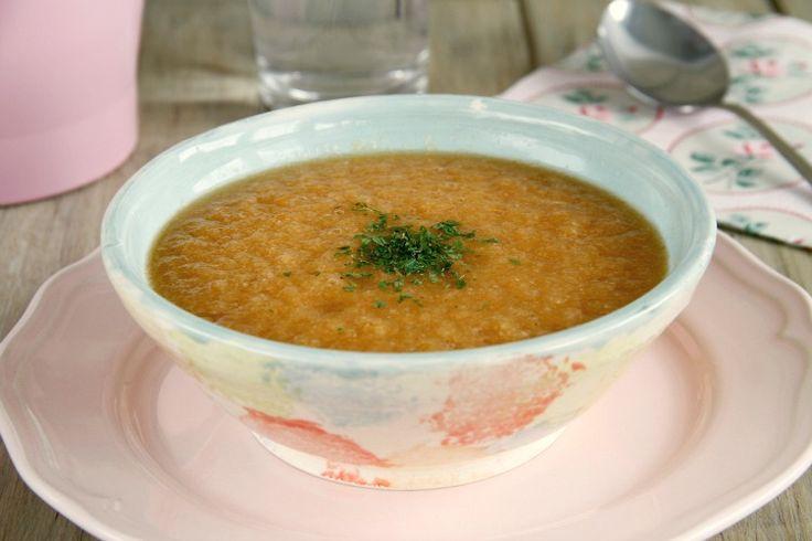 Sopa de verduras (de dieta)