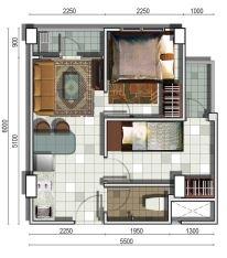 Type 2 Bedroom Corner