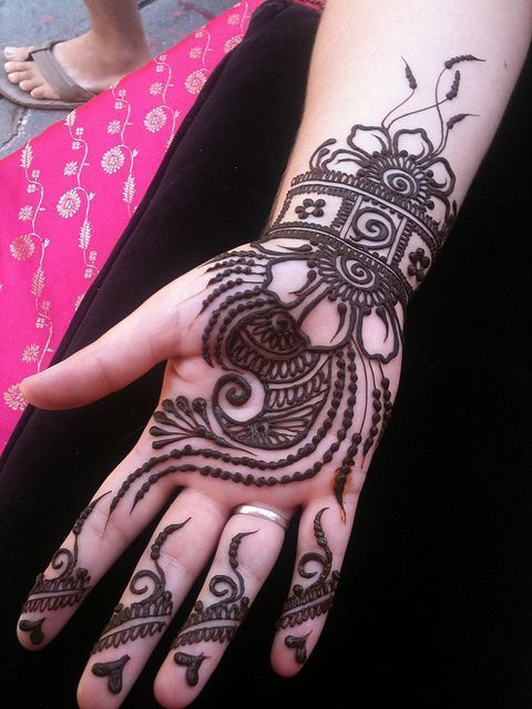 Most Beautiful Full Hands Mehendi Designs for Groom Marriage of 2016