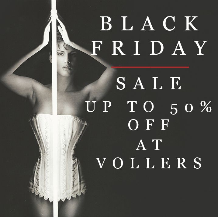 Black Friday at Vollers Corsets