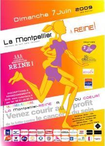 Manifestation LA Montpellier-REINE : MONTPELLIER - Place de la Comédie - Juin 2009