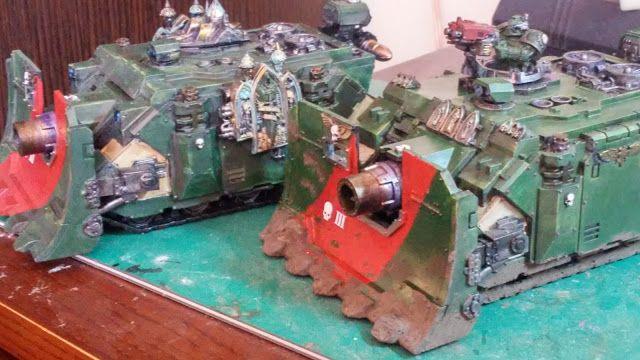 crusade against great beasts: More Vindicators