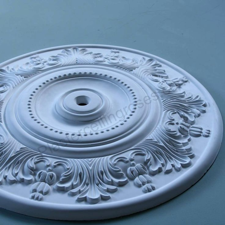 Victorian Plaster Ceiling Rose | Acanthus | 500mm