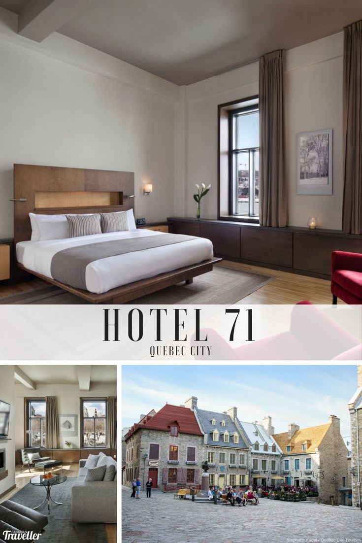 Why Hotel 71 should be the next place you stay in Quebec City via Canadian Traveller Magazine. Words by Terrilyn Kunopaski.