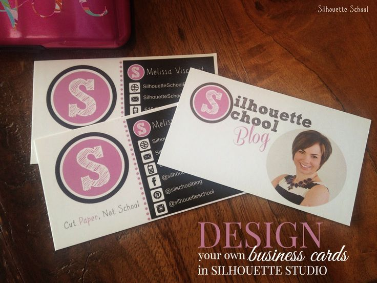 11 best blog conference prep images on pinterest silhouettes designing business cards in silhouette studio silhouette school solutioingenieria Gallery