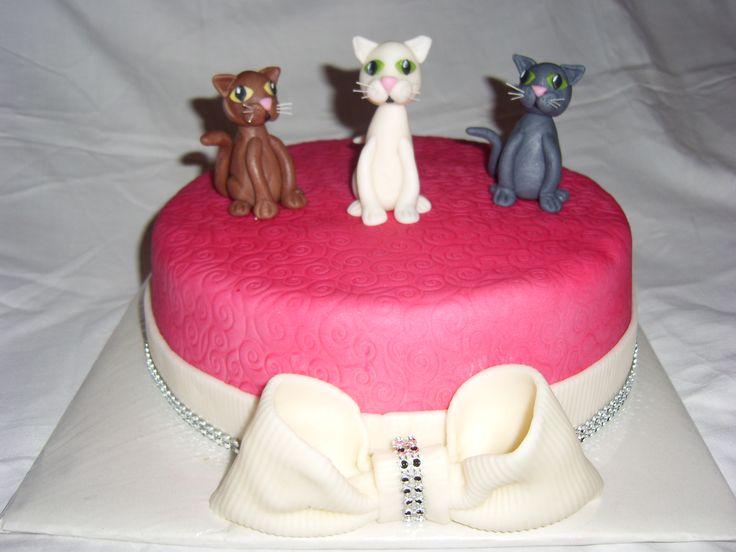 dort s kočkami cake cat