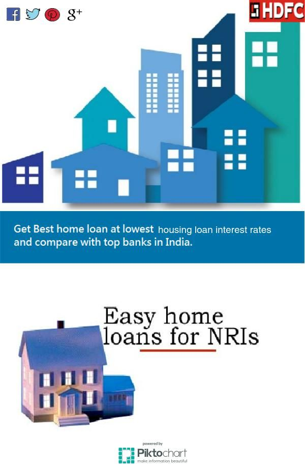 Hdfc best home loan at best #housingloaninterestrates for NRI.