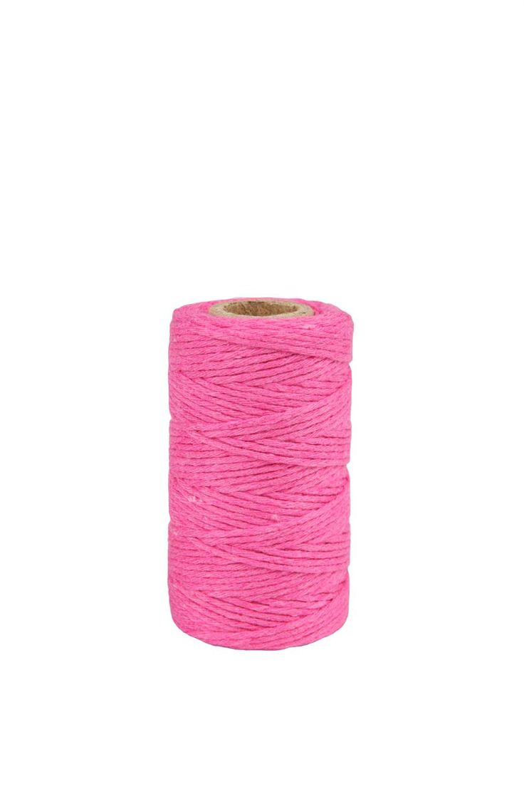 coloured twine Pink