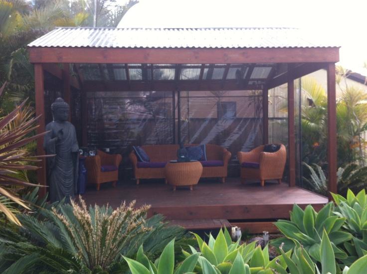 Our Bali hut.