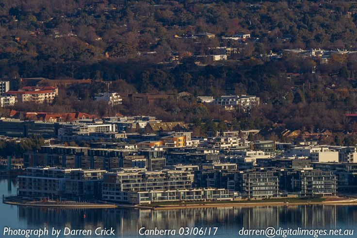 New part of Kingston ACT looks a little more crowded... taken from Mount Ainslie #Canberra #CBR #photography #canon