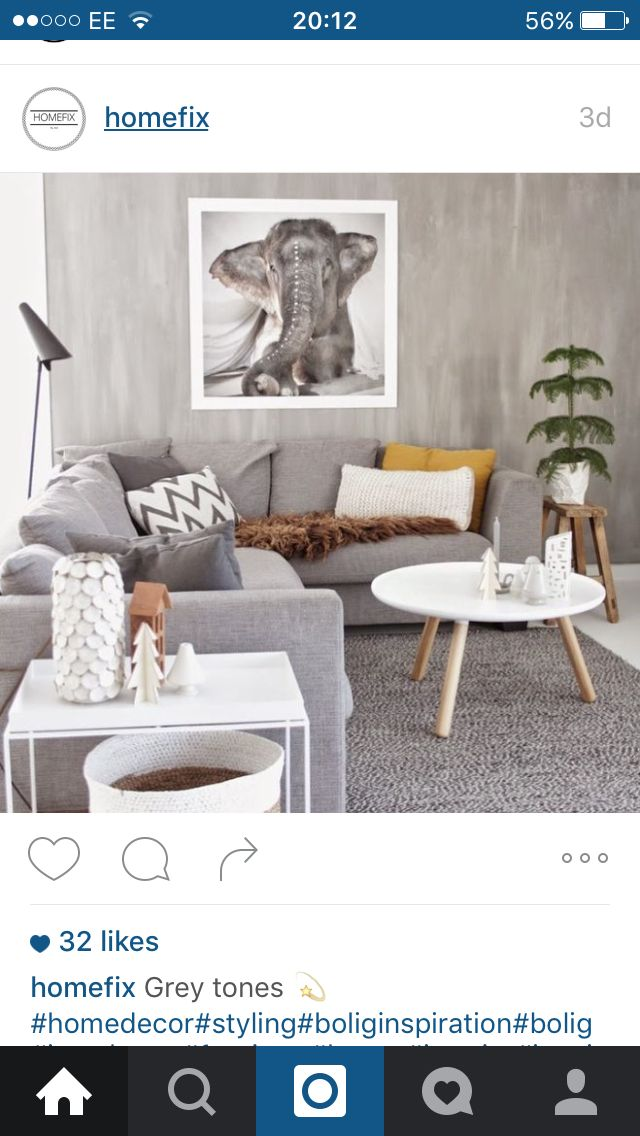Love these grey tones