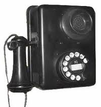 old telephone ::