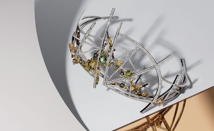 """Wallpaper - """"Crowning glory: a collaboration with a London art school has produced a futuristic jewel"""""""