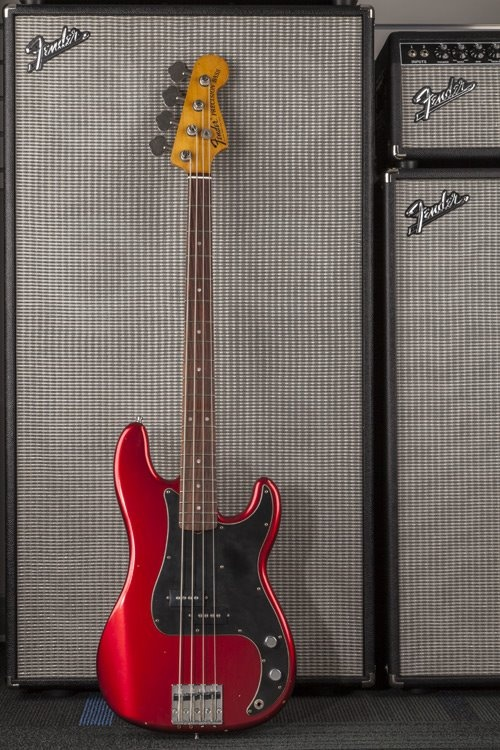 new Fender Guitar's Nate Mendel (Foo Fighters) Signature Precision Bass sighted