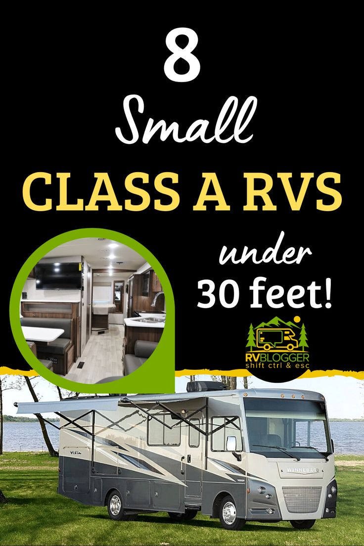 8 small class a rvs under 30 feet rvblogger in 2020