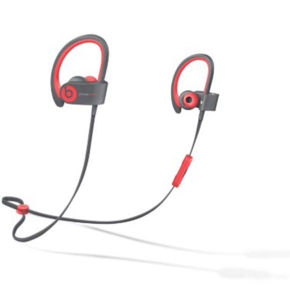 Power Beats by Dre Wireless Headphones Pink and gray Wireless headphones only used once. Bluetooth headphones Beats by Dre Accessories