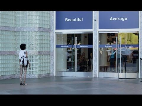 """Dove Has Women Walk Through Doors Labeled """"Beautiful"""" Or """"Average"""" In Latest Campaign"""