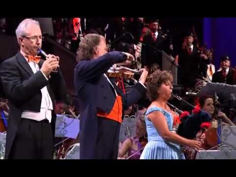 ...pipes and drums with Andre Rieu for yer St Andrew's Day ...enjoy!! :) Andre Rieu   Amazing Grace