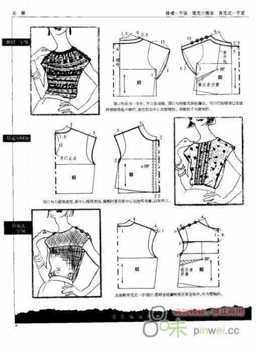 Elementos de modelagem de roupas femininas. Fale com LiveInternet - serviço russo on-line Diaries