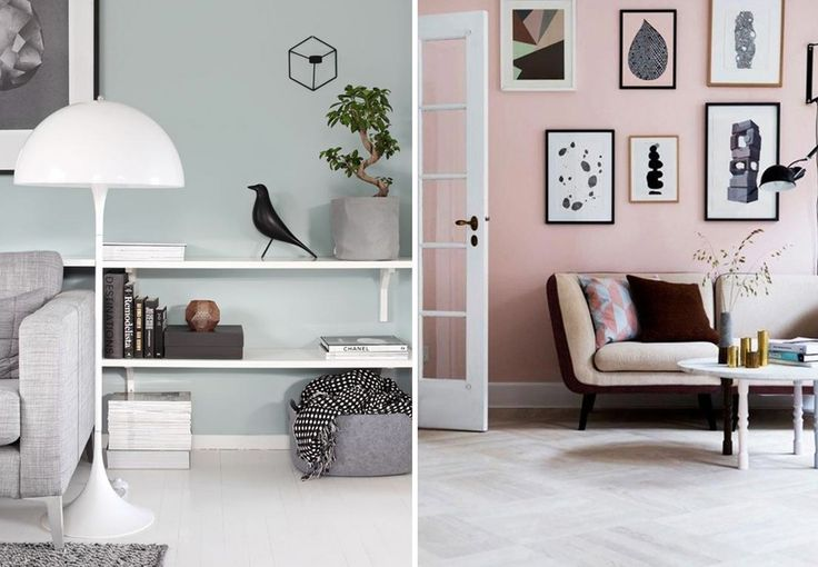 Farver påvirker dit humør, og med lidt maling på væggene, kan du hurtigt skabe lige netop dén stemning som du ønsker. Få her inspiration til, hvordan du på smukkeste vis kan bryde med de hvide vægge i dit hjem.
