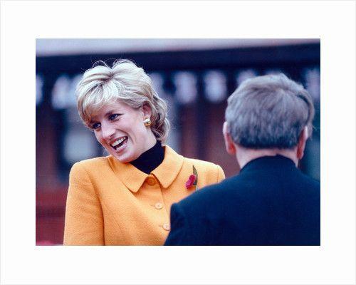 Princess Diana 1995 by Martin Birchall