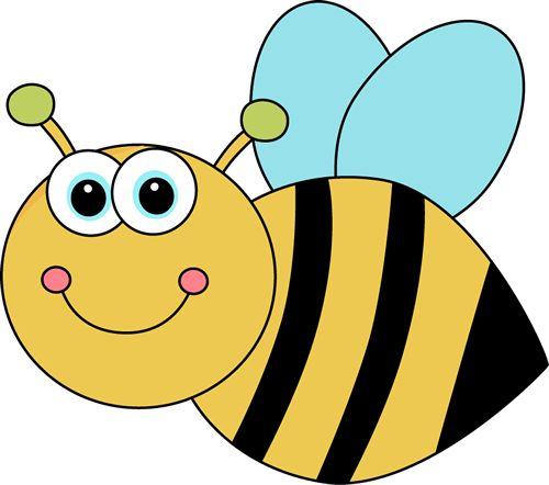 Cute Cartoon Bee Clip Art Image - cute cartoon bee with ...