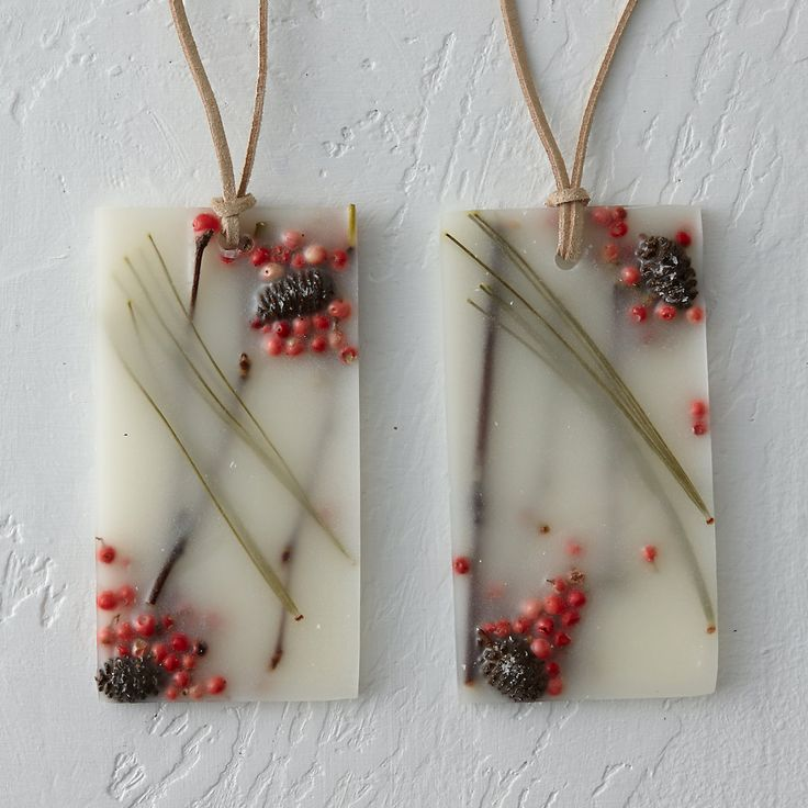 Pressed Flower Sachet, Red Currant & Cranberry