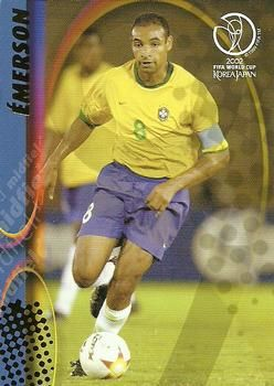 2002 Panini World Cup #34 Emerson Front