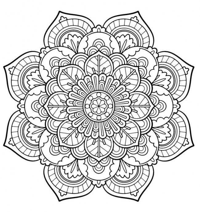 mazuras mandala coloring pages - photo#11