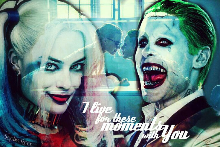 I live for these moments with you, Dr. Quinzel. - The Joker to Dr. Harleen Quinzel