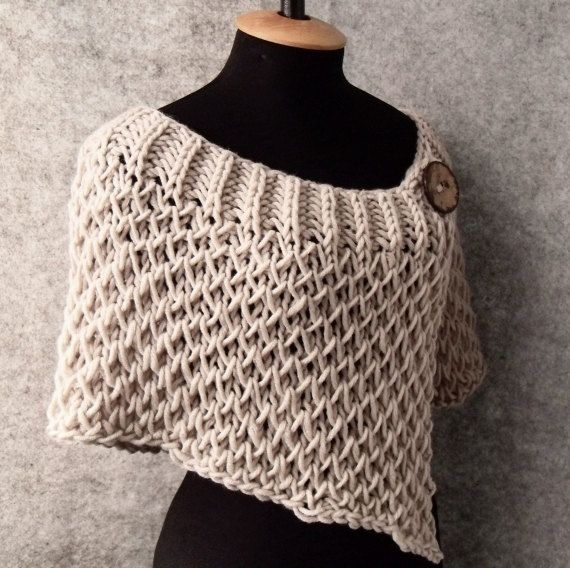 knit wrap - if only I could knit....