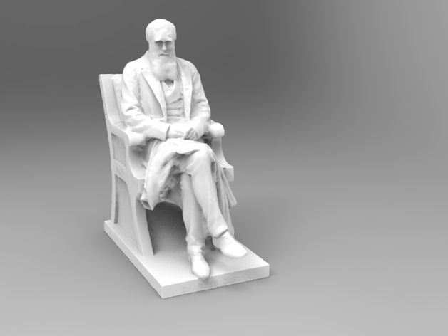 Charles Darwin Statue by TheNewHobbyist - Thingiverse