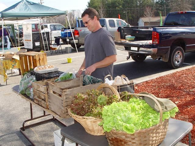 Wednesday Is Market Day At Hillsborough Farmers In North Carolina 4