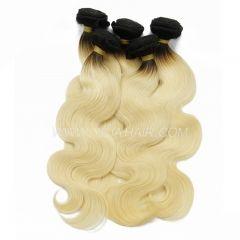 3 or 4 bundles Brazilian Virgin Hair Online Shop Ombre 1B/613 Virgin Hair Extensions Body Wave