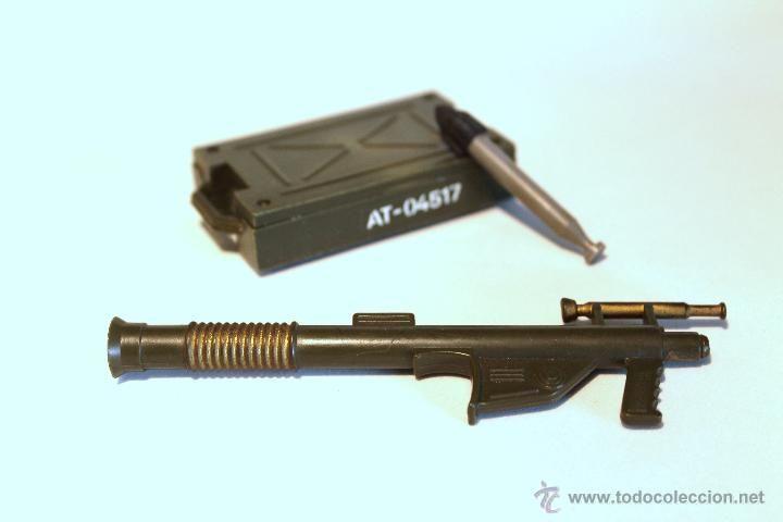 Bazooka, caja de munición y proyectil Madelman (Juguetes - Figuras de Acción - Madelman)