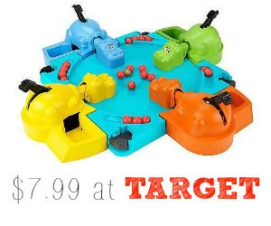 Target Deal: Hungry Hungry Hippos Game, $7.99 - Southern Savers