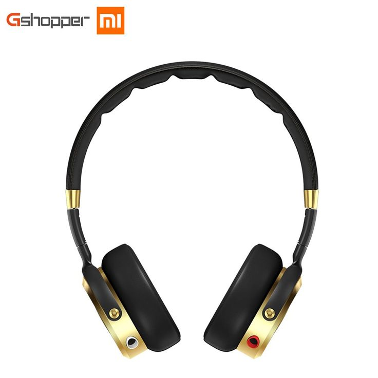 Original Xiaomi Headphone Wired Control Hifi Headband Earphones Hi-Res Audio Built-in MEMS Microphone Black+Champagne Gold //Price: $99.91//     #onlineshop