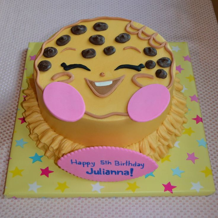 Shopkins Kooky Cookie  on Cake Central