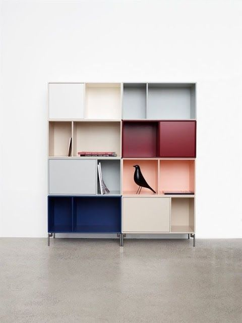 Montana shelving in beautiful colors