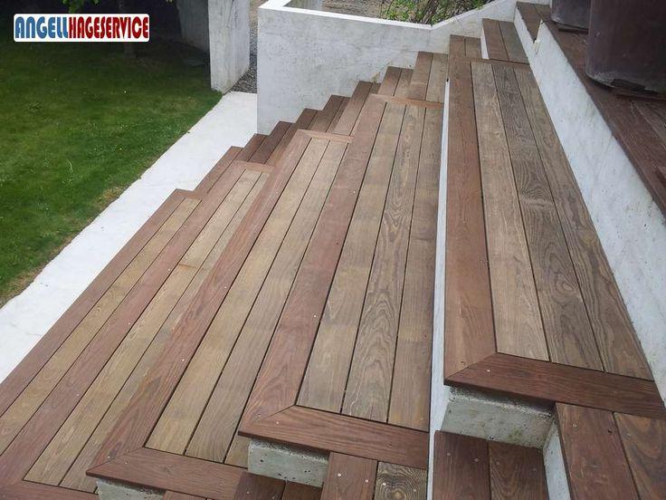 Terrasse i Oslo har blitt fornyet med Kebony. | Angell Hageservice