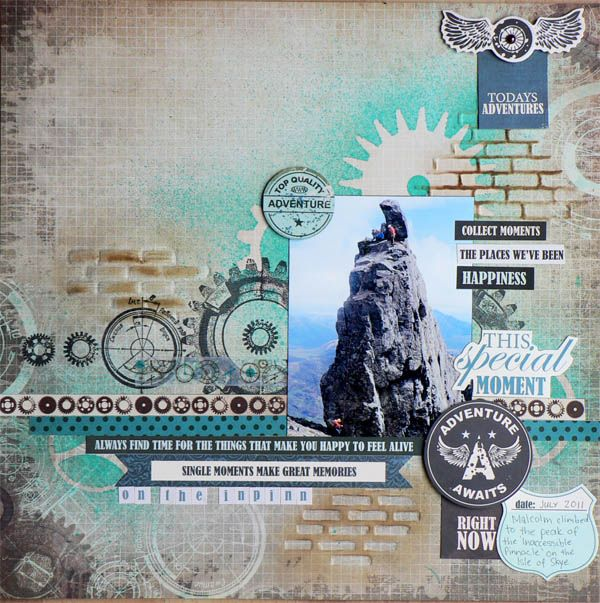 "<p>Hi everyone, it's Pam here with a mixed media layout featuring Kaisercraft's Time Machine collection. So let's have a look at how this layout was constructed. First I did some misting using an old Tim Holtz mask which worked really nicely with this collection that features cogs and clocks. I used <a href="" http://www.merlyimpressions.co.uk/blog/project-portfolio/scrapbooking/time-machine-mixed-media-layout/ ""> …click to read more</a></p>"