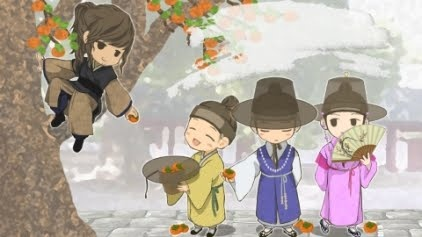 Sungkyunkwan Scandal (live action) - one of the Korean shows that I love. It has history (interesting Joseon dynasty era) plus it's charming, witty, cute, sweet, romantic, & funny! And it's about scholars...