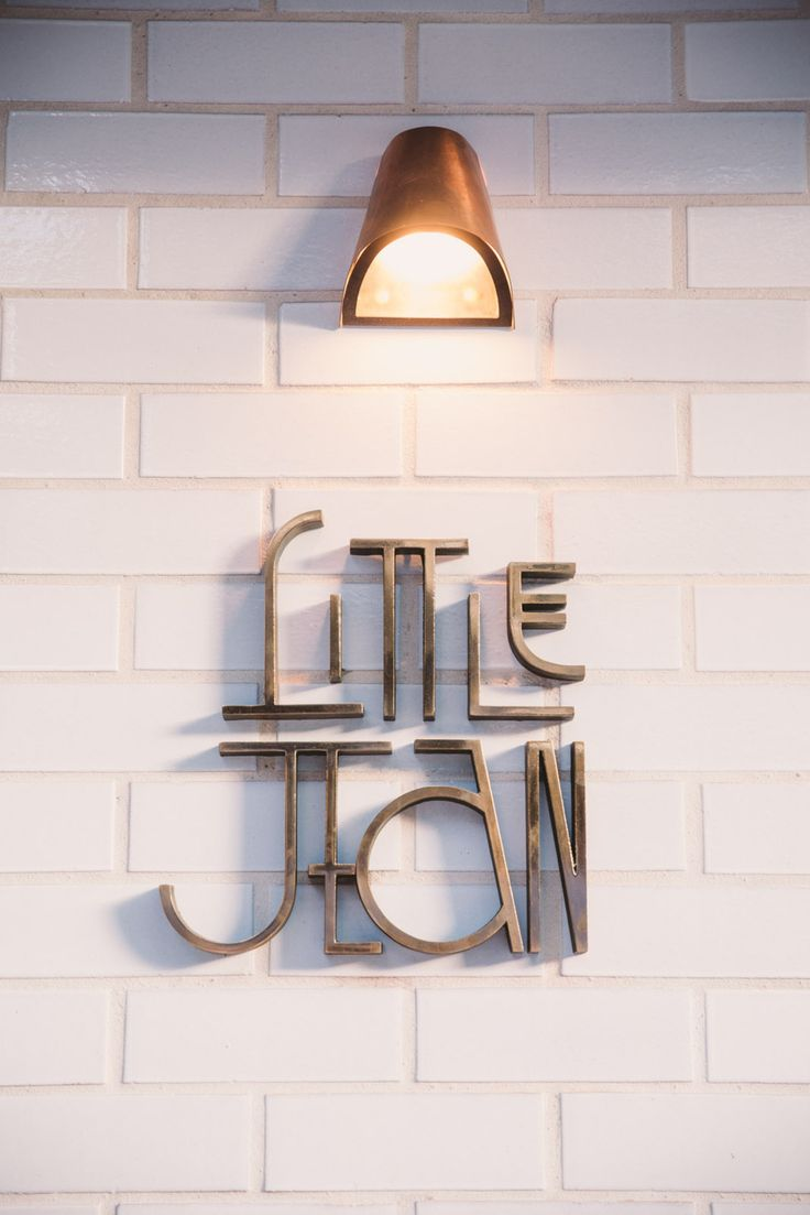 Little Jean cafe in Sydney's Double Bay - Vogue Living // branding, logo…