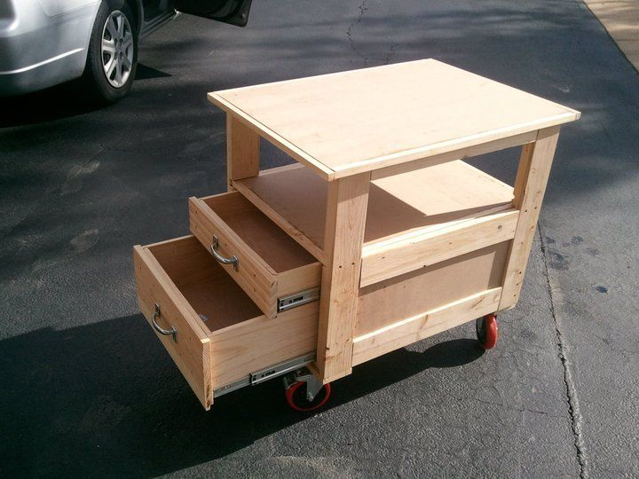 Roll Around Shop Cart Perfect For Storing Tools And Maybe